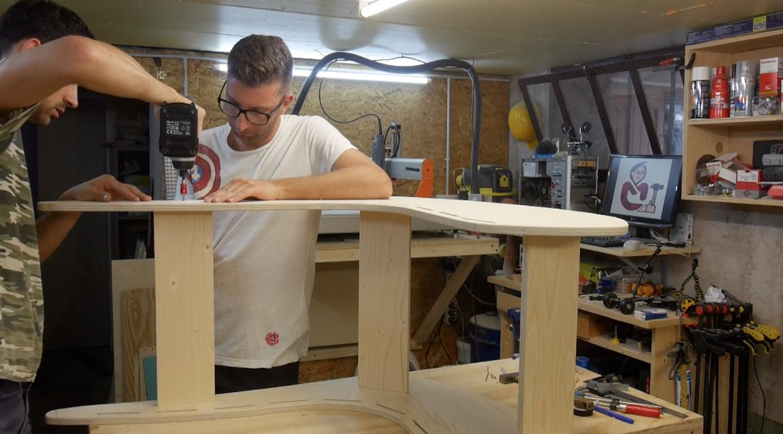 Come costruire una sedia a dondolo con il mio amico - Costruire sedia a dondolo ...
